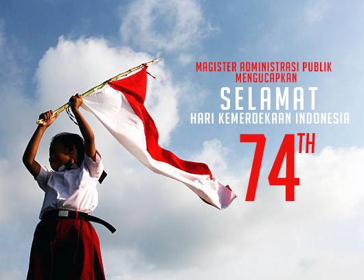 Ucapan Selamat Hari Kemerdekaan Indonesia Ke 74 Map
